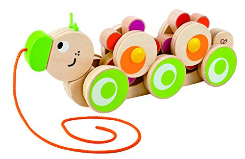 Hape Wooden Caterpillar Pull Toy