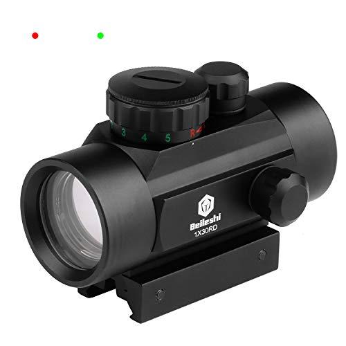 beileshi 1x 30 rot/grün dot anblick mit integrierter Picatinny Montage - Deck