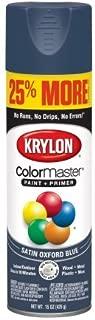 Krylon ColorMaster Paint + Primer Satin Oxford Blue, 15-Oz
