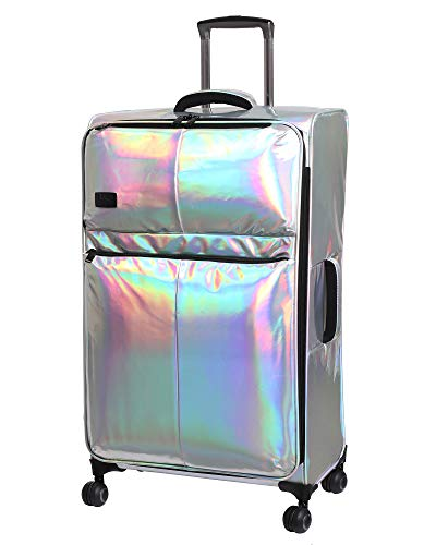 it Girl 26.8' Spellbound 8 Wheel Holographic Lightweight Expandable Spinner, Silver, One Size