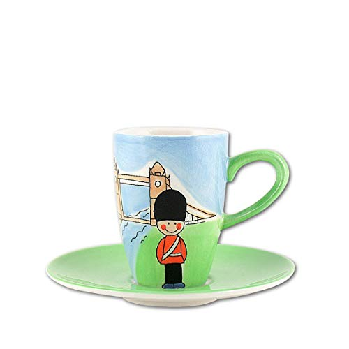 440s.de Mila Keramik Espresso-Tasse mit Untere, London | MI-88003 | 4045303880030