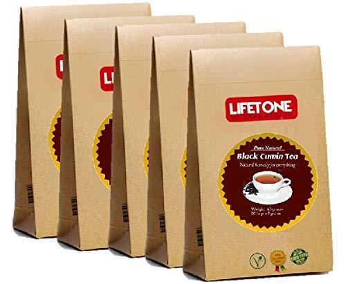 Kreuzkümmel-Tee | Kräuterergänzung | Reinigen Sie Immunitätstee | 100 Teebeutel | 200 Gramm | 5 Sätze