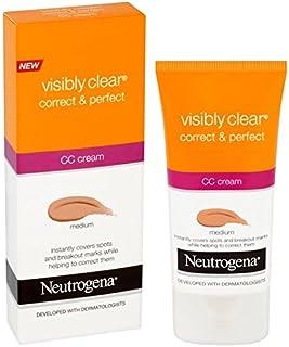 Neutrogena Zichtbaar duidelijk Correct & Bescherm CC Cream Medium 50ml