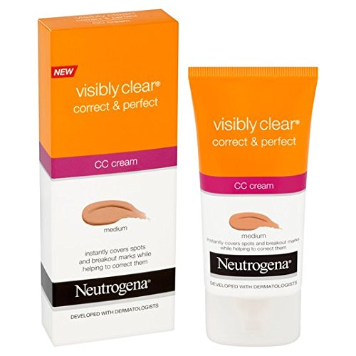 Neutrogena Visibly Effacer Correct & Protect CC Cream 50ml Medium