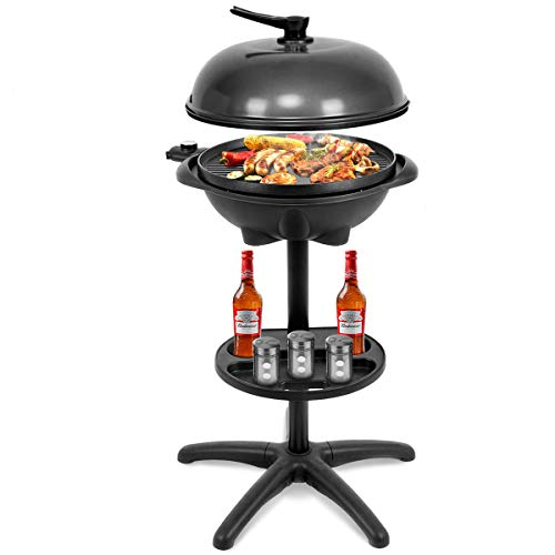 Giantex 1350W Electric BBQ Grill Non-Stick
