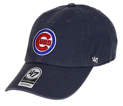 '47 Unisex MLB Chicago Cubs Clean Up Baseballkappe, Vintage Navy, One Size