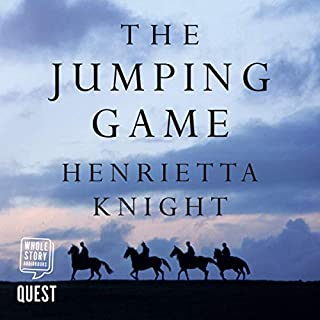 The Jumping Game audiobook cover art