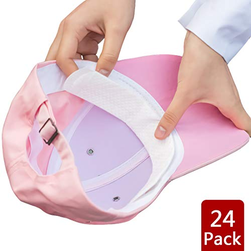 Acoser Hat Liner Cap Protection - Collar Protector Sweat Pads - Prevent Hat Sweat Stains Rings, Moisture Wicking, Cooling Towel Effect, Headband, Sweatband