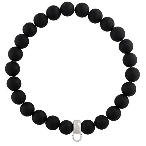 Thomas Sabo Damen-Armreifen Künstliche Perle X0219-023-11-L16,5