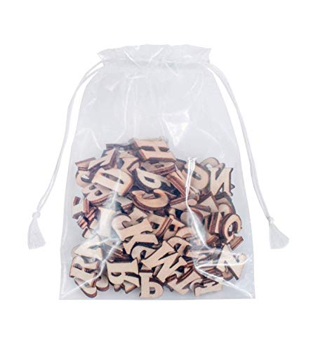 APQ Pack of 500 Large Clear Drawstring Bags 18 x 24. Clear Poly Bags for Packing and Storing 18x24. Thickness 2 mil. Plastic Bags for Industrial and Promotional use. Double Cotton Drawstrings.
