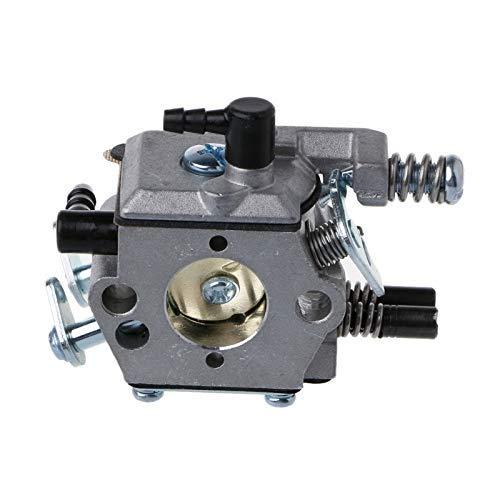 Sierra de cadena Carburador 4500 5200 5800 Carb 2 tiempos Motor 45cc 52cc 58cc-para motocicleta tornillos carburador reemplazo del carburador