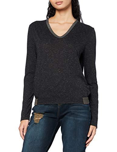 G-STAR RAW Neppy Slim Camiseta, Dk Black C535-6484, XS para Mujer