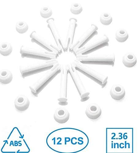 AAGOOD Gemeinsamer Pins & Dichtungen (12 Stück) für Intex Runde Metallrahmen Pools Ersatzteile, Intexpool Ersatz Ersatzteil, Intex 10'-12'