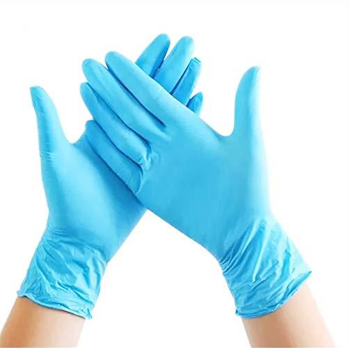 Top Glove Gants en Nitrile Bleu Jetables sans Poudre AQL 1.5, Boîte de 100, Petit
