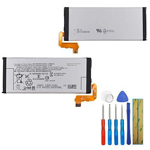 E-yiiviil - Batteria di ricambio LIP1642ERPC compatibile con Sony Xperia XZ Premium G8142 G8141, 3230 mAh con strumenti