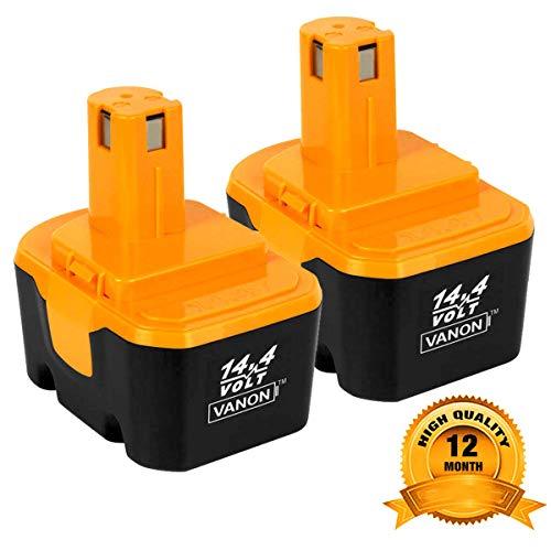2Pack 3.0Ah 14.4V Ni-CD Battery for Ryobi 130224010 130224011 130281002 1314702 1400144 1400655 1400656 1400671 4400011