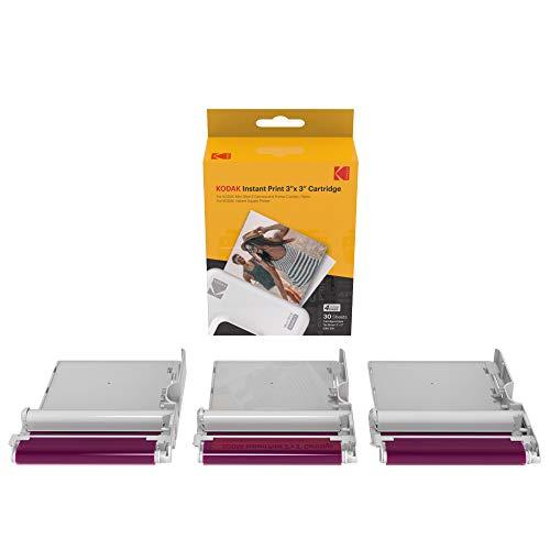 Oferta de KODAK Instant Print 3'x3' Cartridge 30 Impresiones Mini Shot Combo