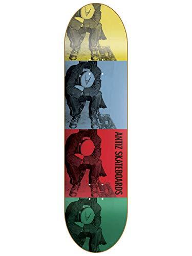 Antiz Skateboard Deck Minor Threat 8.25
