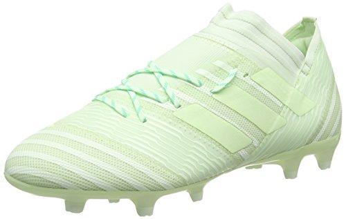 adidas Herren Nemeziz 17.2 Fg Fußballschuhe,Grün (Aero/Hi-Res Green S18 001),40 2/3 EU