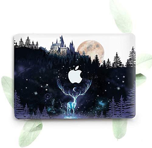 Estuche rígido de plástico protector ZVStore para la MacBook (Air 13 2018 (A1932), Harry Potter)