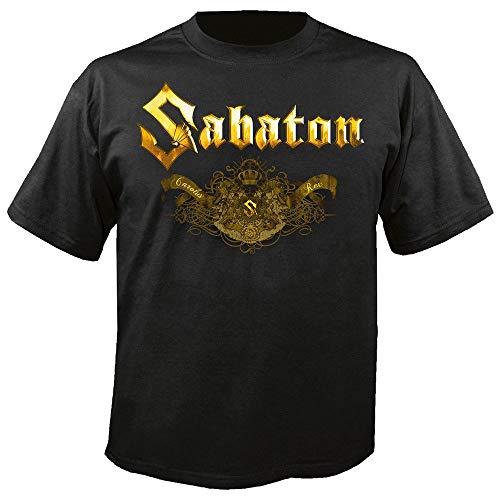 Sabaton - Platinum - Carolus Rex - T-Shirt Größe L