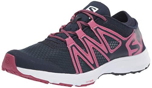 Salomon Women's Crossamphibian Swift 2 Athletic Water Shoes, Navy Blazer/Malaga/Ebony, 5.5
