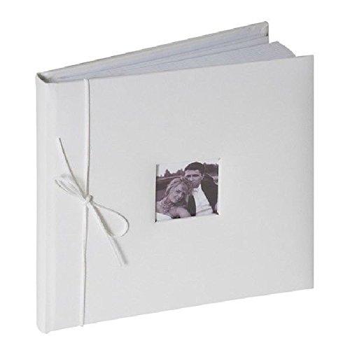 Fetez moi - Livre d'or blanc simili cuir 20 pages - 26X26X4 cm