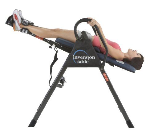 Product Image 9: IRONMAN Gravity Highest Weight Capacity Inversion Table with Optional No Pinch AIRSOFT Ankle Holder, (l x w x h):49.00 x 26.00 x 65.00 in, 5402
