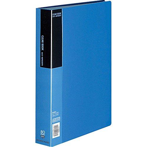 'Kokuyo Clear book Fixed Blue A4Ritratto 80Sheets la–b80b by Kokuyo Co, Ltd.'