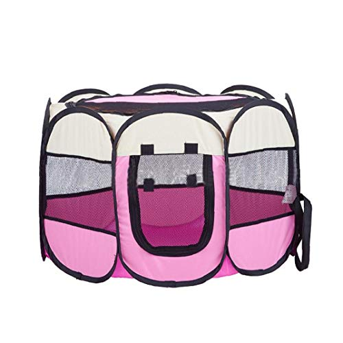 Adore store 1pc Impermeable de Tela Oxford Plegable portátil para Mascotas extraíble...