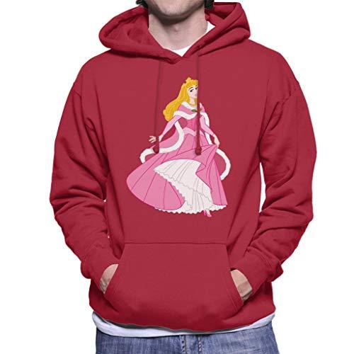 Disney Kerstmis Doornroosje Dansen Roze Jurk Heren Hooded Sweatshirt
