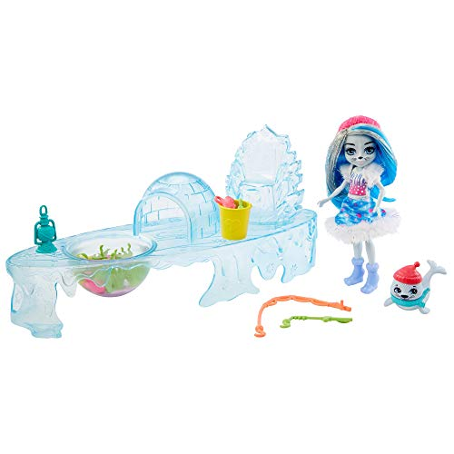 Enchantimals Pack ¡Vamos de Pesca en Hielo (Mattel GJX48)