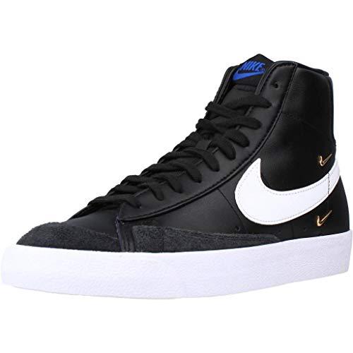 Nike Calzado Deportivo Blazer Mid '77 SE para Hombre Negro 38 EU
