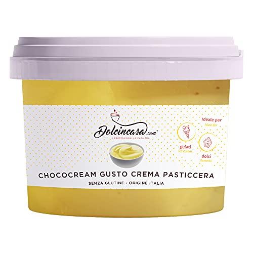 Crema Spalmabile Gusto Crema Pasticcera Senza Glutine 500 Gr Crema pronta all'uso - Crema per Farcitura