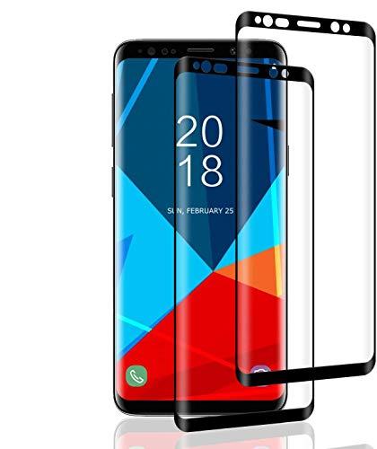 POOPHUNS 2 Unidades Vidrio Templado Samsung Galaxy S8, Protector Pantalla Samsung Galaxy...