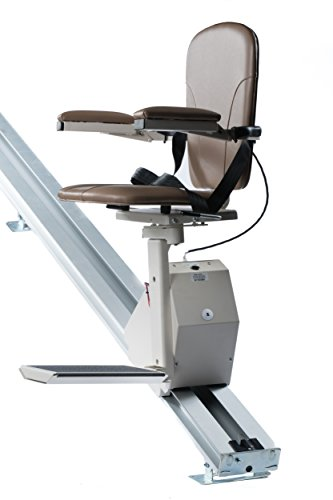 Universal Stair Lift - 350lb Capacity - Folds Flat to Wall - Includes Warranty