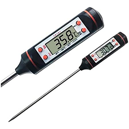 Aleissi Termometro Digital para Cocina, Reposteria, Chocolate, Caramelo, Carne y Leche