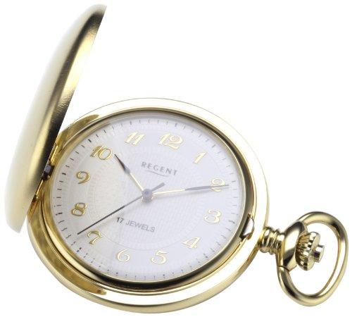Regent Taschenuhr Regent Mechanisch vergoldet 11330006