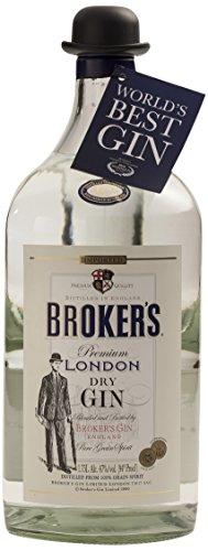 Brokers Gin Premium London Dry Gin XXL 47% vol. (1 x 1.75 l)