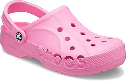 Crocs Baya Clog Unisex Adulta Zuecos, Rosa (Pink Lemonade), 36/37 EU