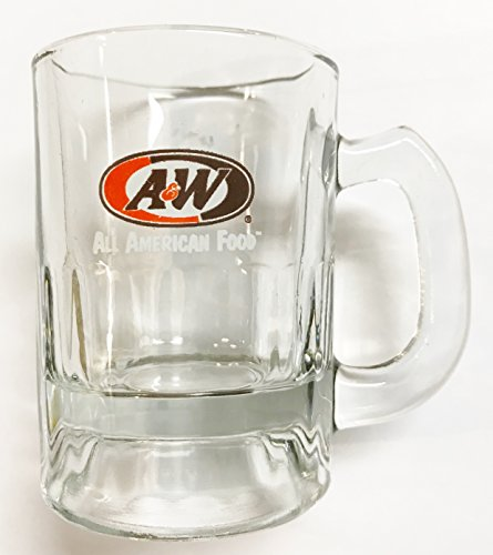 "A&W Rootbeer""All American Food"" Mini Shot Glass Mug (3.25"" Tall)"
