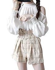 DeBangNiレディース シャツ ブラウス アウター レディース カジュアル 長袖 シャツ レディース シャツ トップス 学院風 おしゃれ 可愛い シャツ