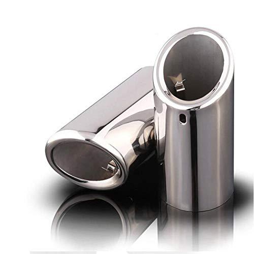 YXNVK Cubierta de Tubo de silenciador de Escape de automóvi