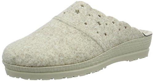 Rohde Damskie buty Neustadt-d Clogs, beżowy - beżowy Silk 13-41 EU
