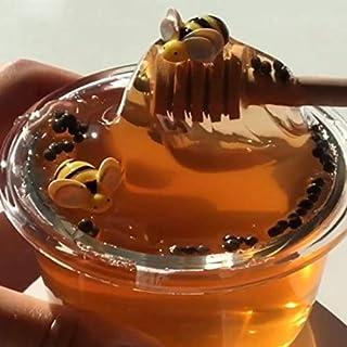 Crystal Slime Toys Clear Honey Slime Bee Polymer Clay Modeling Slime Lizun Glue mud Slime Putty DIY Toy Antistress Mud - H...