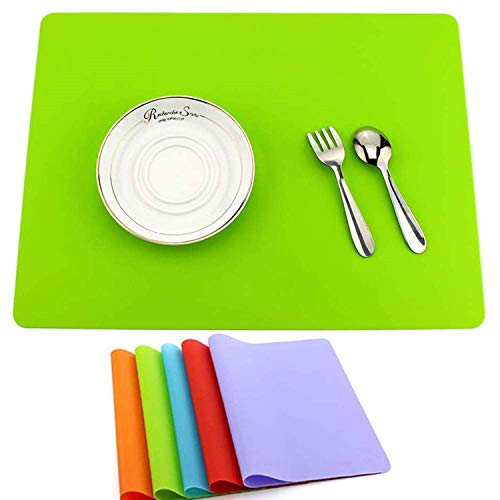zswell Silicone Placemats - Multifunctional Silicone Mat -...
