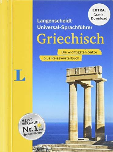 """Langenscheidt Universal-Sprachführer Griechisch - Buch inklusive E-Book zum Thema \""""Essen & Trinken\"""": Die wichtigsten Sätze plus Reisewörterbuch"""