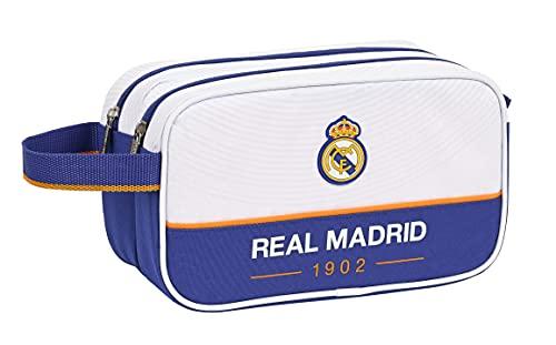 SAFTA Real Madrid, Trousse Ragazzo, Blu e Bianco, M