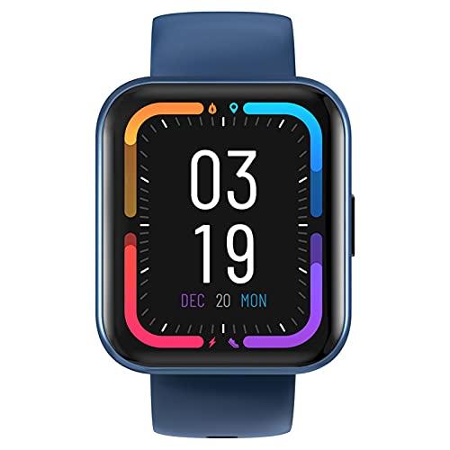 Opfury SmartWatch, Reloj Inteligente con 1.71 '' Pantalla, 14 Modos de Deporte, Integrada, Pulsómetro, Monitor de Oxígeno de Sangre, Monitor de Sueño, Monitores de Actividad