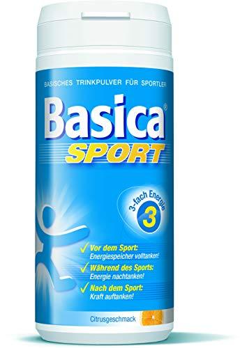 Basica Sport, basische Mineralgetränk für Leistung* und Regeneration** beim Sport, 240 g